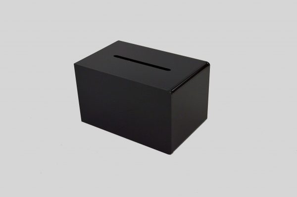 Small Ballot Comments Collection Suggestion Box Black