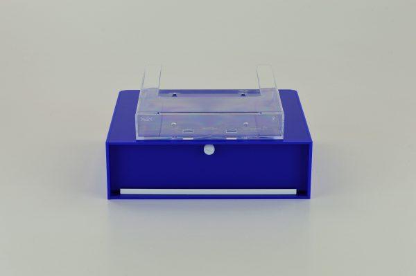 Slim Collection Suggestion Box Dark Blue