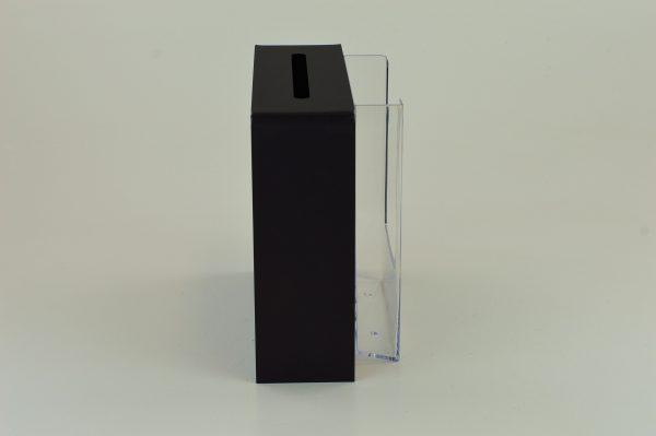 Slim Collection Suggestion Box Black