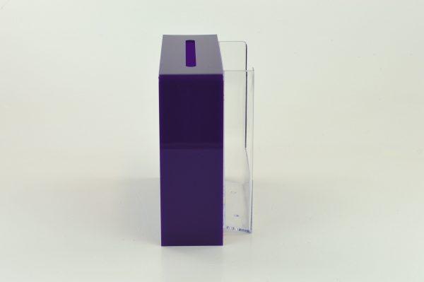 Slim Collection Suggestion Box Purple