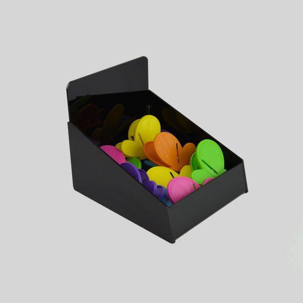 Counter Retail Storage Basket Black