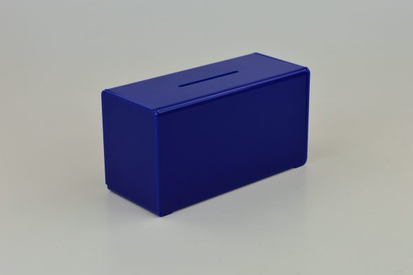 Small Suggestion Box / Collection Box Blue
