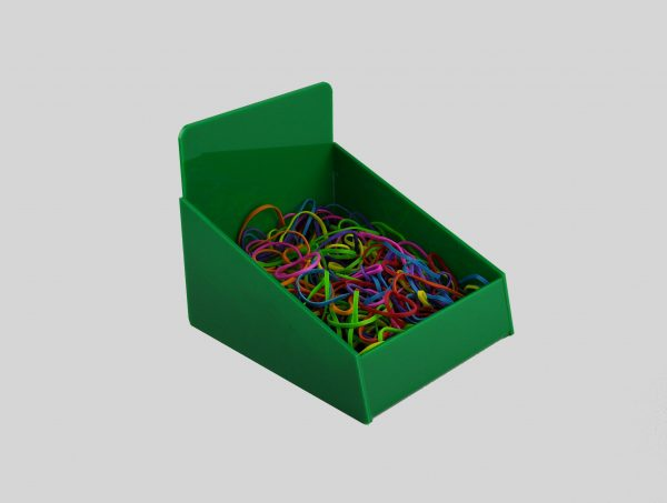 Counter Retail Storage Basket Green