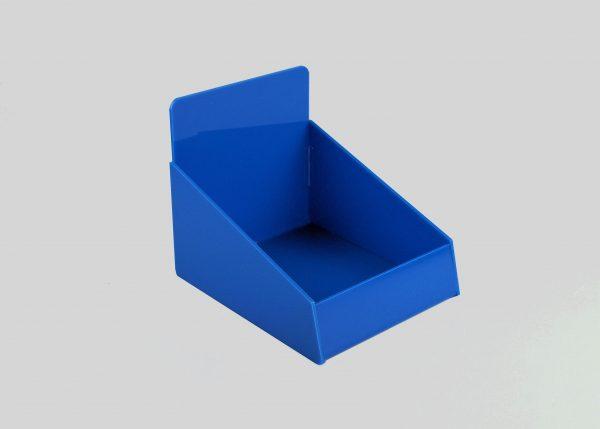 Counter Retail Storage Basket Light Blue