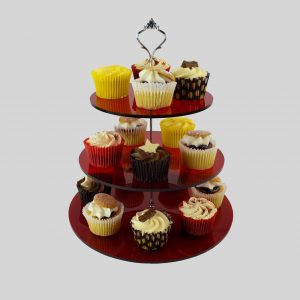 3 Tier Cake Stand for Cup Cakes / Afternoon Tea