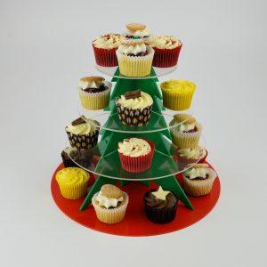 Christmas Tree Cake Stand