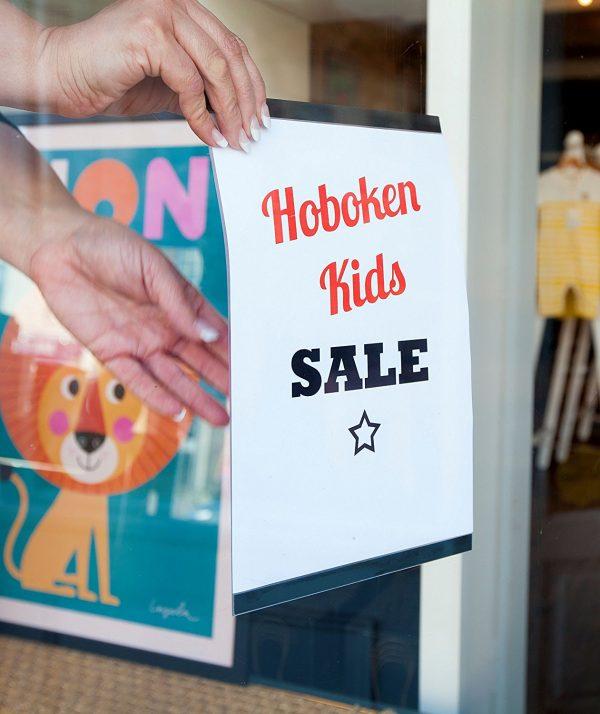 Magik Frame Sign / Poster Holder Clear PVC