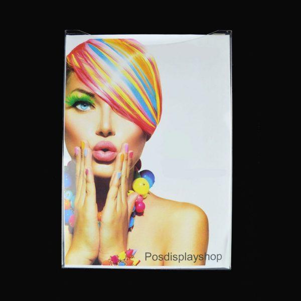 A4 Portrait Clear PVC Leaflet / Information Holder / Dispenser