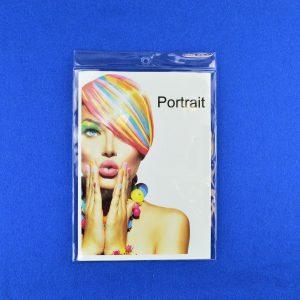 Portrait Clear Plastic Display Holder Pocket