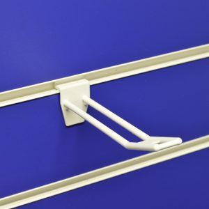 Plastic Slatwall Euro Hook Arms