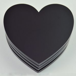 Heart Place Mat Set