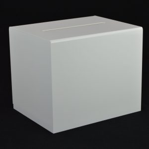 Large Ballot Comments Collection Suggestion Box White