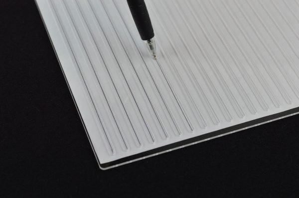 Guide Lines Stencil Template